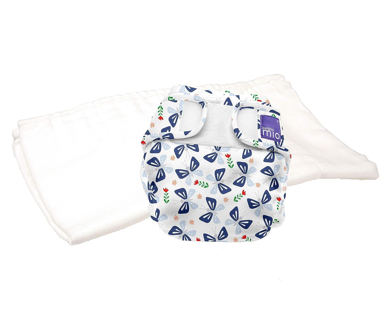 9kgs+ Bambino Mio miosoft Two-Piece Nappy Trial Pack Size 2 Dragonfly Daze