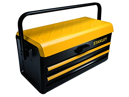 "STANLEY STST1-75510 - Caja metalica para herramientas, 2 cajones, 19""/"
