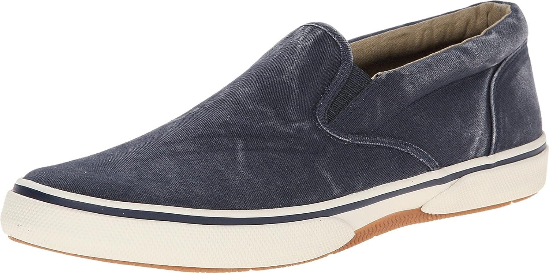 Sperry Zapatillas de Lona Para Hombre Azul Azul Marino 45 EU