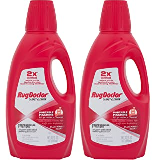 Rug Doctor 04127 Portable Machine And Upholstery Cleaner, 2 Pack