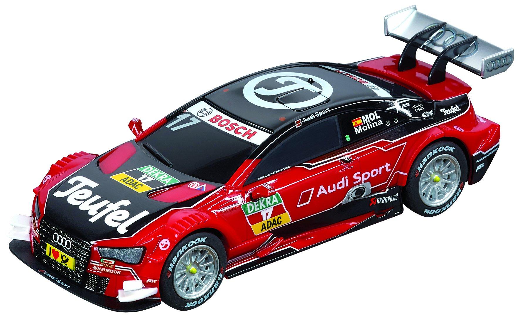 Carrera 64090 GO Audi Teufel RS 5 Dtm, Miguel Molina, No.17 Slot Car (1:43 Scale)