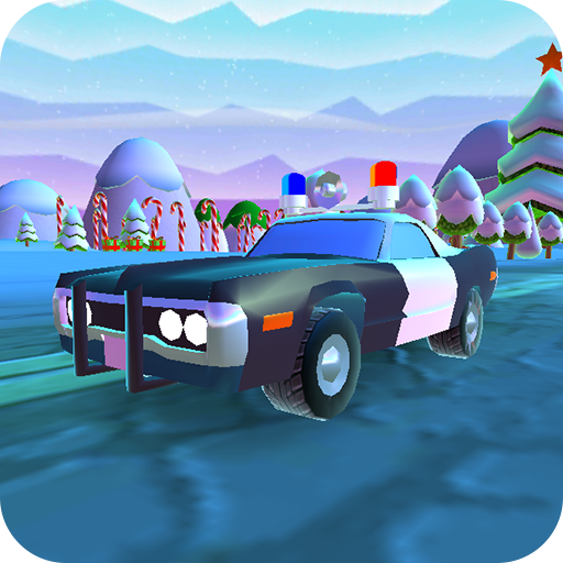 Free:Cartoonish Car Race Game -