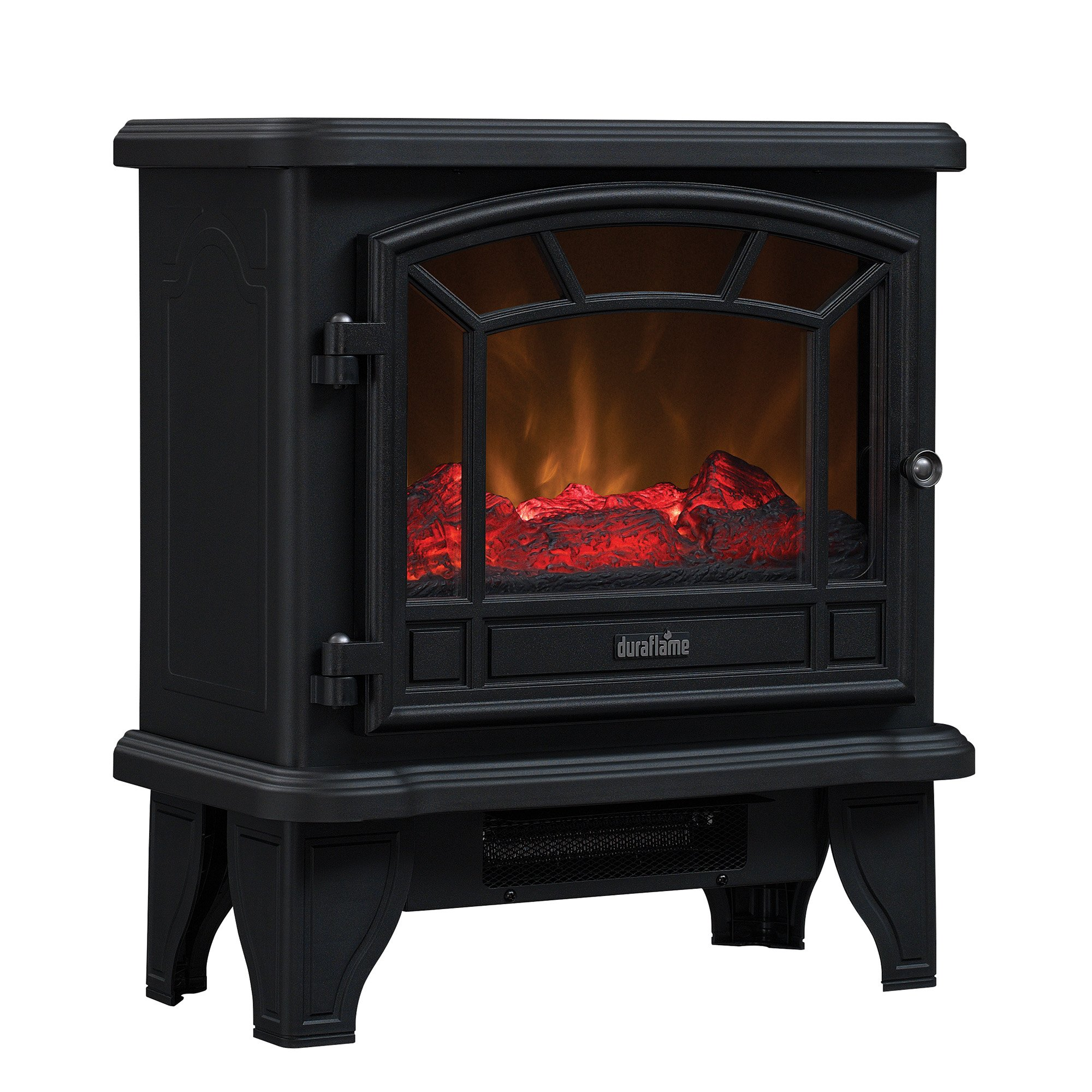 Duraflame DFS-550-21-BLK Maxwell Electric Stove with Heater 1500W, Black by Duraflame Electric