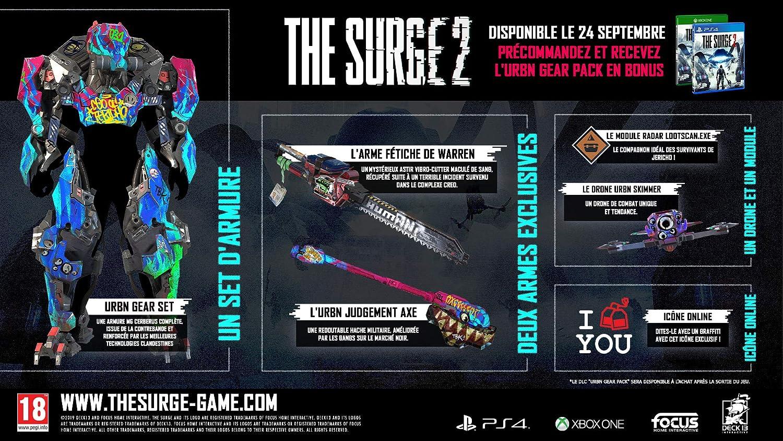 JEU Console FOCUS The Surge 2 Xbox One: Amazon.es: Electrónica