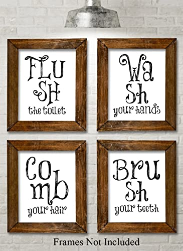 Bathroom Quotes And Sayings Art Prints