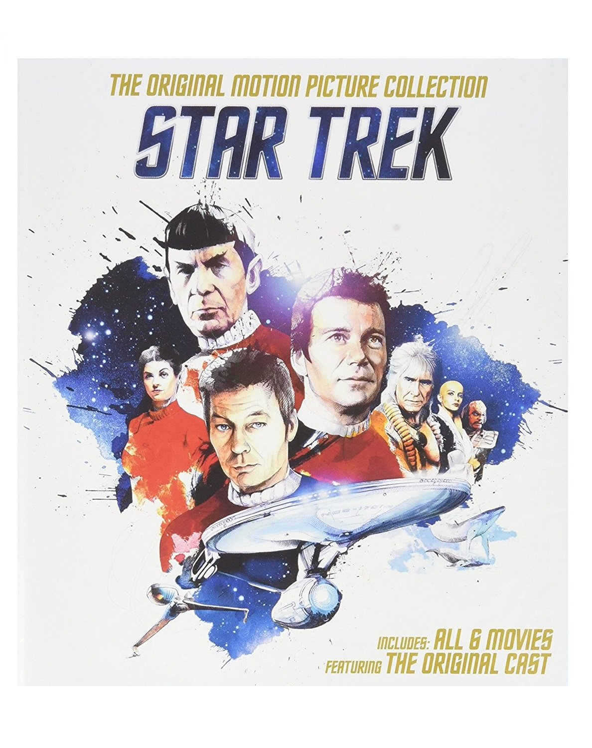 DVD : Star Trek: The Original Motion Picture Collection (Boxed Set, Widescreen, , Dubbed, Repackaged)