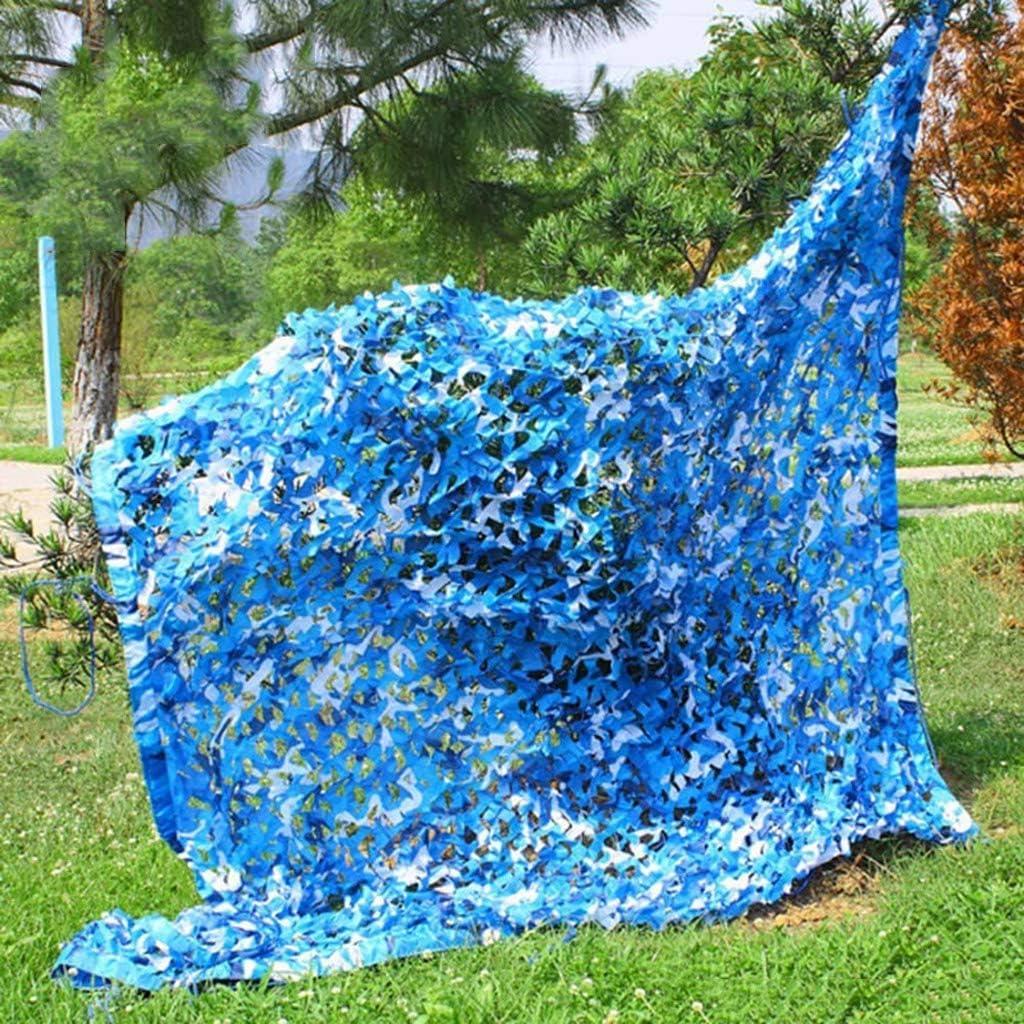 AGWa Camo Rete, Bulk Rotolo mimetico netto, resistente e leggero camuffamento Tarp rete della maglia per la caccia decorazioni Parasole partito di campeggio esterna,3 × 3M 6 × 6m