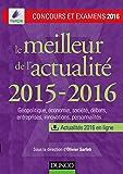 Le meilleur de l'actualité 2015-2016 - Concours et examens 2016