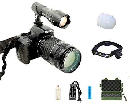 Ruspike LED Video Light, Dimmable Ultra Bright Camera/Camcorder Photo Light for Smart Phone