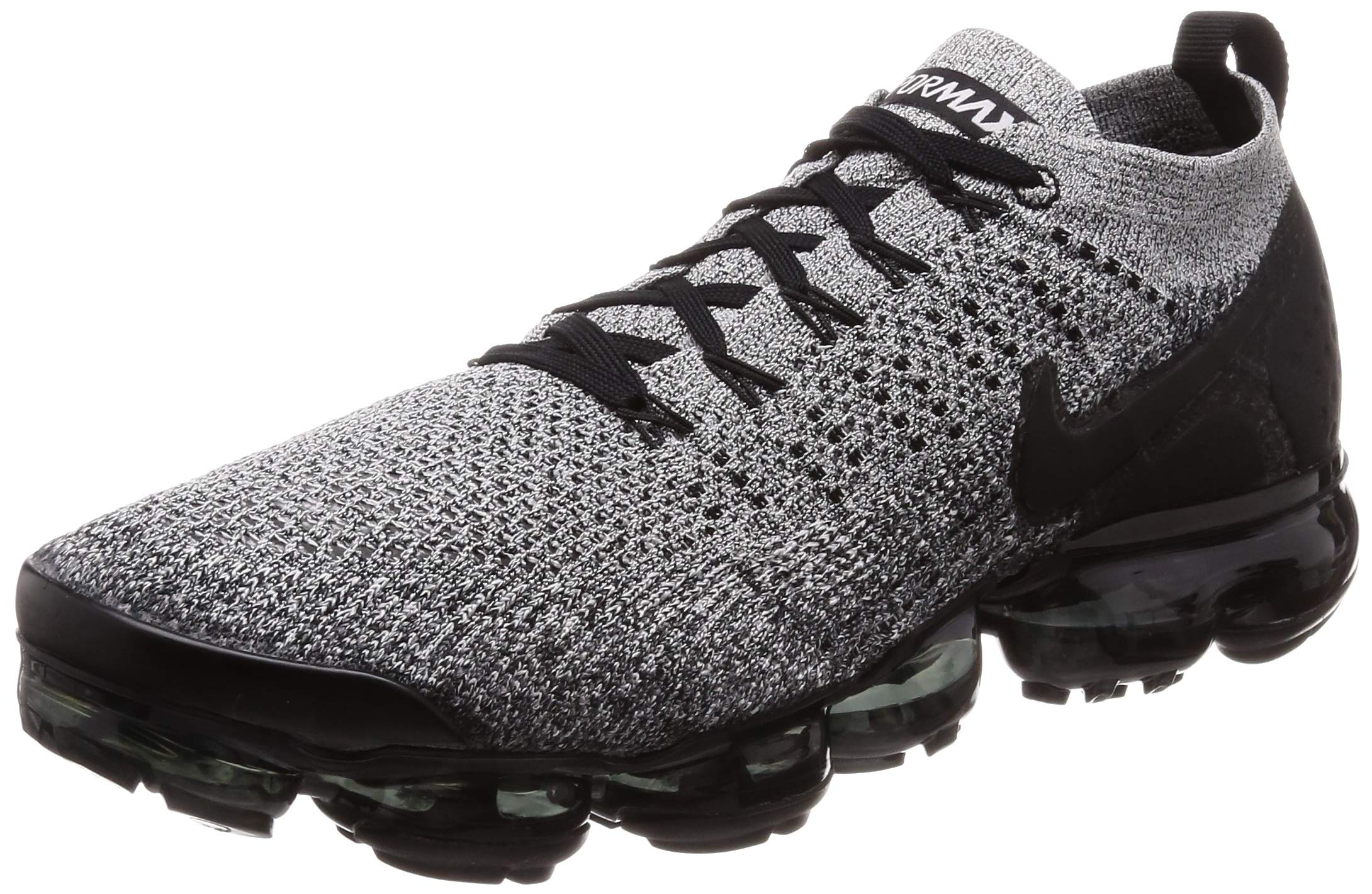 online store 6ccdf 5abf8 Nike Men's Air Vapormax Flyknit 2 Running Shoes (11, White/Black/Black)