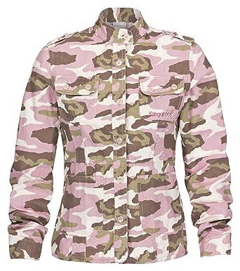 verkauf uk großer Rabatt begrenzte garantie KangaROOS KangaROOS Kinder Jacke Canvasjacke Camouflage ...