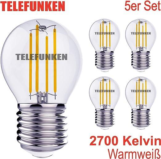 PHILIPS E27 LED Birne Leuchtmittel 7 Watt Warmweiss Glühlampe Birne 350 Lumen