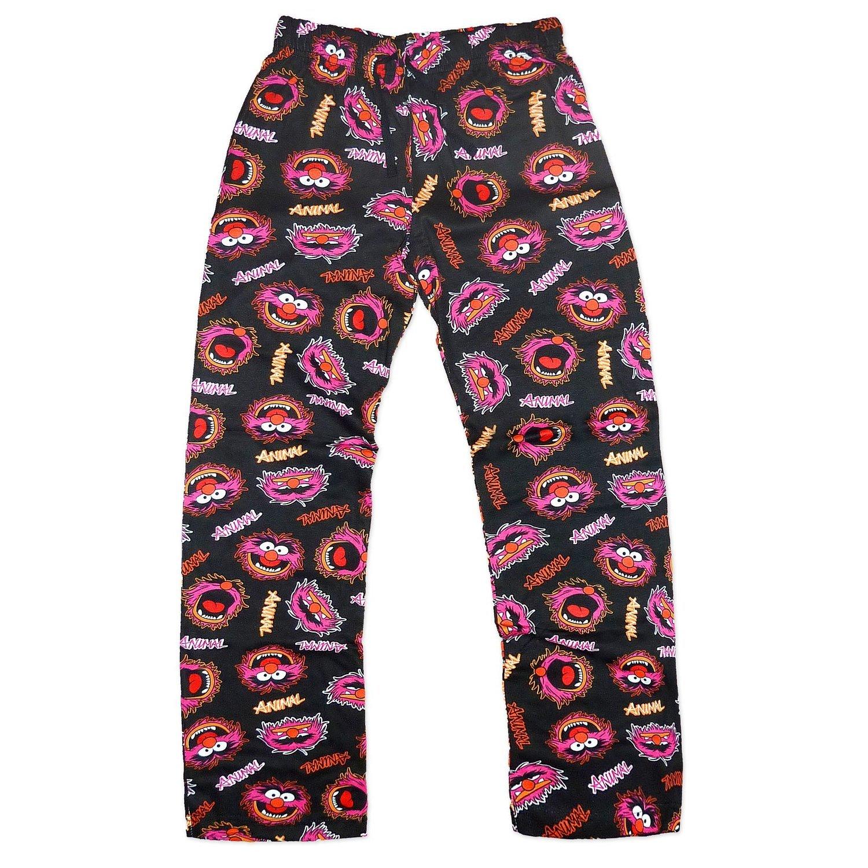 Jungen Kinder Disney Muppet Tiermuster Netzwerfer Superhelden Hausanzug Pyjama Schlafanzug Nachtanzug Unterteil Hose(Schwarz)