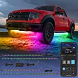 Govee Exterior Car LED Lights, RGBIC Underglow Car Lights with App and Remote Control, 16 Million Colors, Music Mode…