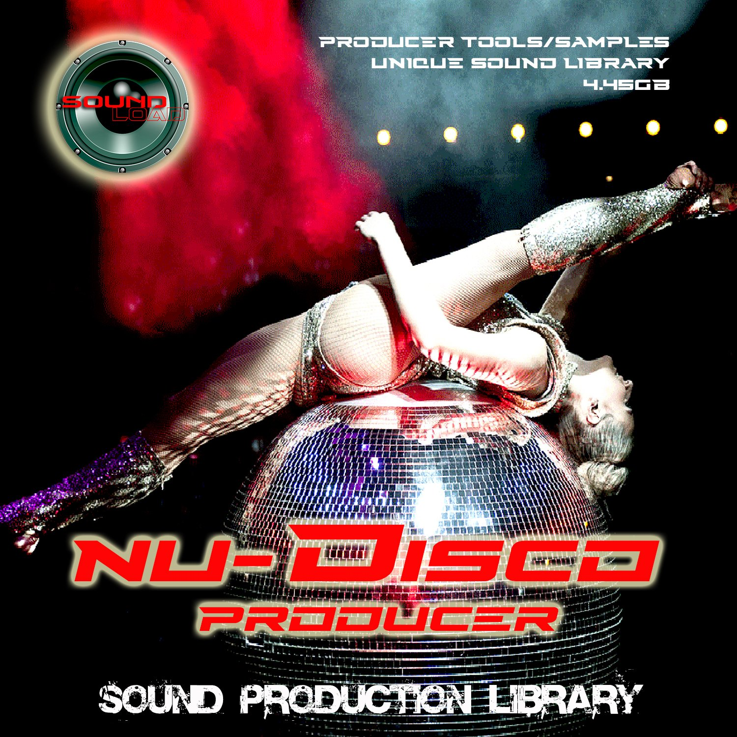 DISCO PRODUCER - THE Best of Disco Studio Audio Production Kit - Sound Library over 1,1GB Samples on DVD or download