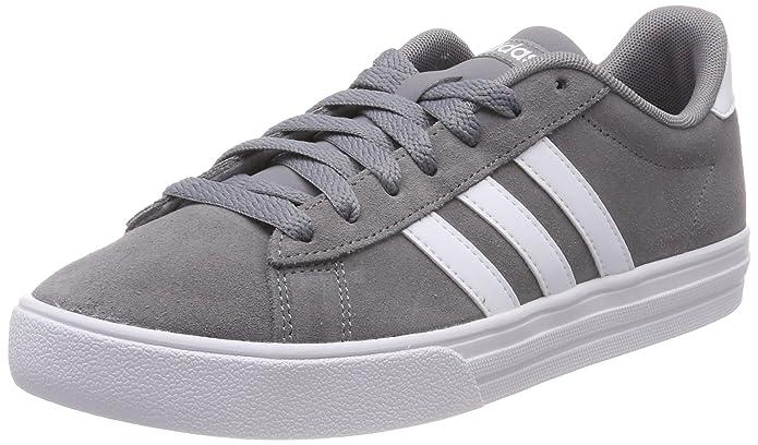 adidas Daily 2.0 Sneaker Herren Grau mit weißen Streifen