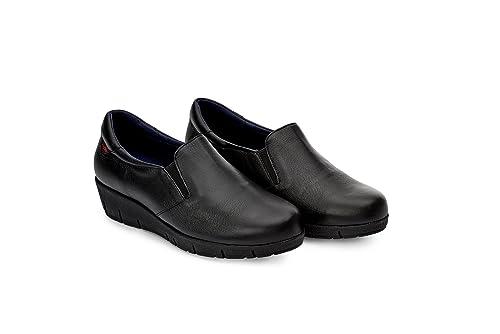 d7f4cb7bd3b66 Oneflex Mirelle Negro - Mocasín anatómico Cómodo para Mujer  Amazon.es   Zapatos y complementos