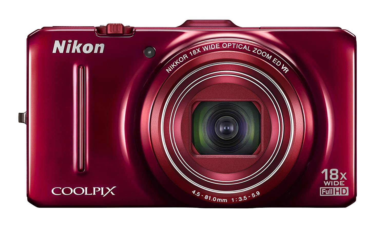 Amazon Nikon Coolpix S9300 16 0 MP Digital Camera Red