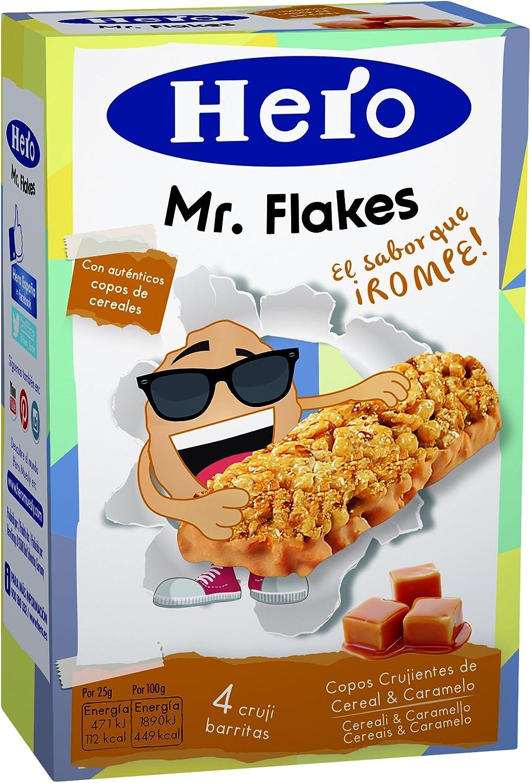 Hero Flakes Cereales Con Caramelo - Pack de 4 x 25 g - Total: 100 g: Amazon.es: Alimentación y bebidas