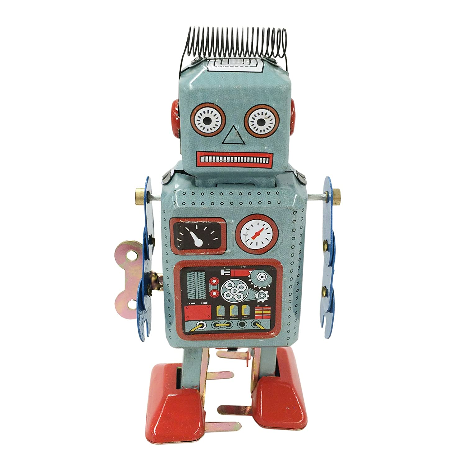 Amazon Retro Classic Wind up Robot Japan circa 1940s Toys