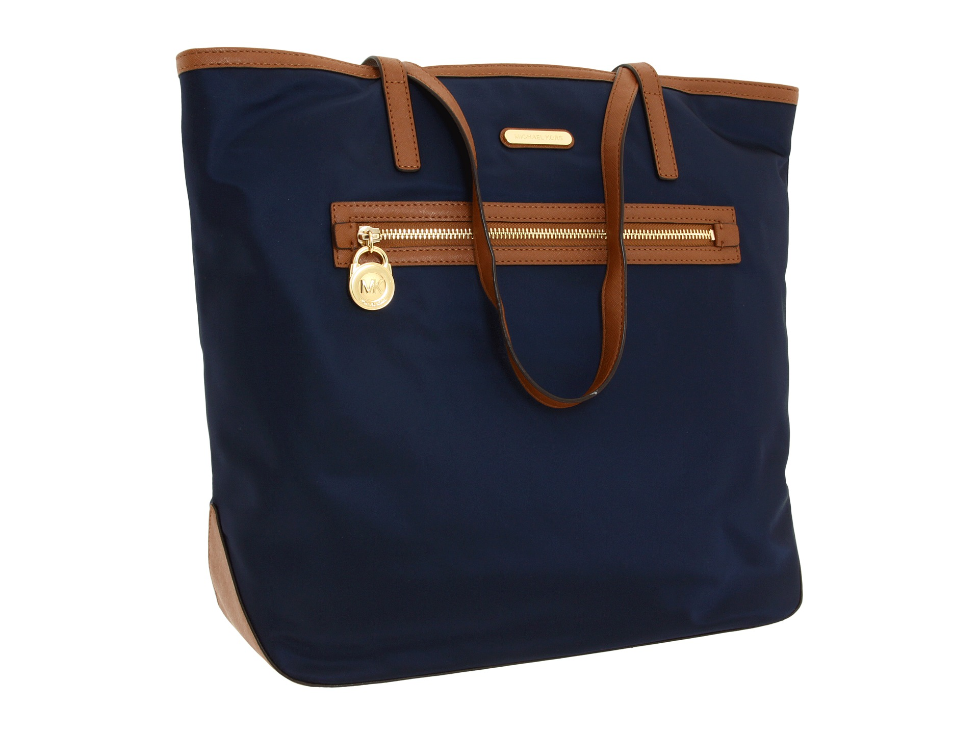 1ed847865340 BOLSA de MICHAEL KORS KEMPTON LARGE NORTH SOUTH TOTE modelo Navy ...