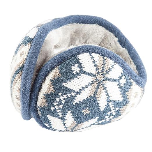 7b53ea53fe9 Amazon.com  Donsine Fleece Ear Muffs Winter Earmuffs for Men   Women ...