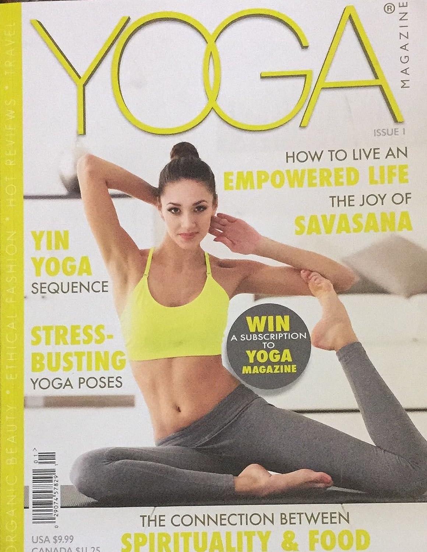 Amazon Com Yoga Magazine Issue 1 Everything Else
