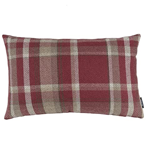 McAlister Textiles Heritage Funda de cojín a Cuadros de ...