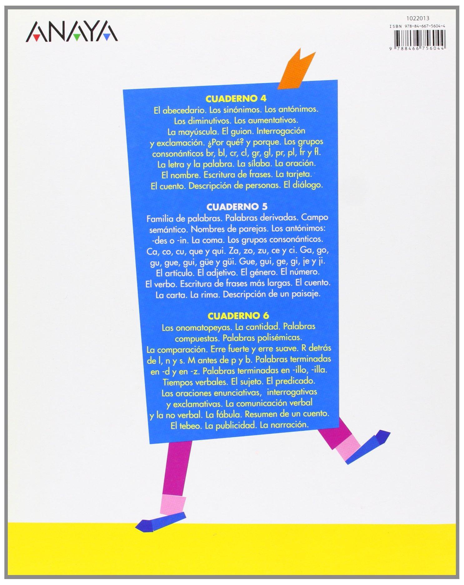 Cuaderno de Lengua 5: María de los Ángeles; Sáenz de Urturi Montemayor, María José González Soler: 9788466756044: Amazon.com: Books
