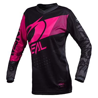O'Neal E001-233 Element Factor Women's Jersey (Black/Pink, M): Automotive