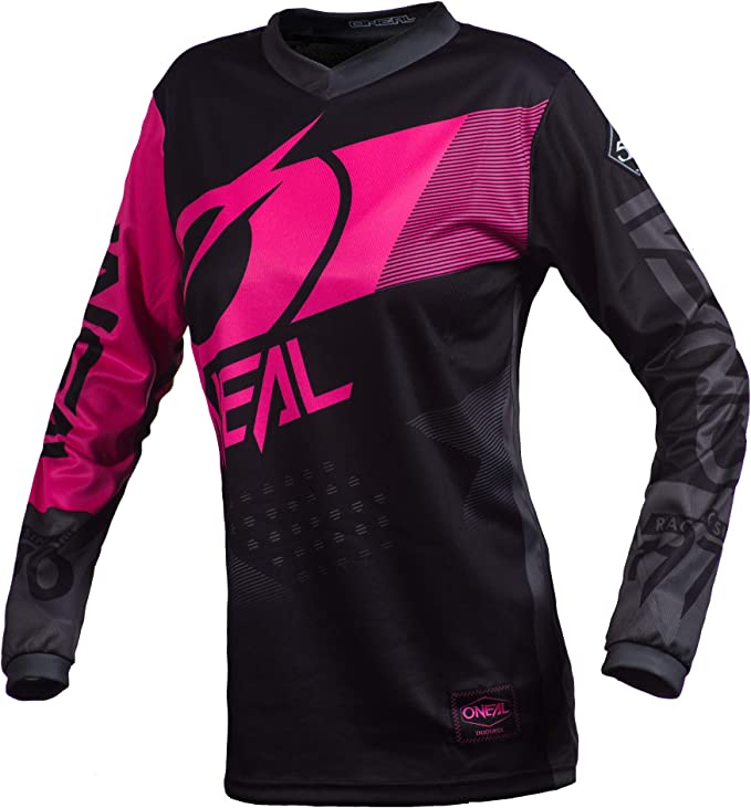 O Neal Element Factor Women S Fr Jersey Long Black Pink 2020 Oneal Pink 42 Bekleidung