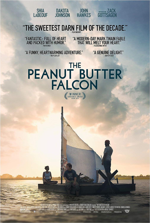 The Peanut Butter Falcon Movie Poster Glossy Print Photo Wall Art Shia LaBeouf, Dakota Johnson Sizes 8x10 11x17 16x20 22x28 24x36 27x40#3 (24x36 inches)