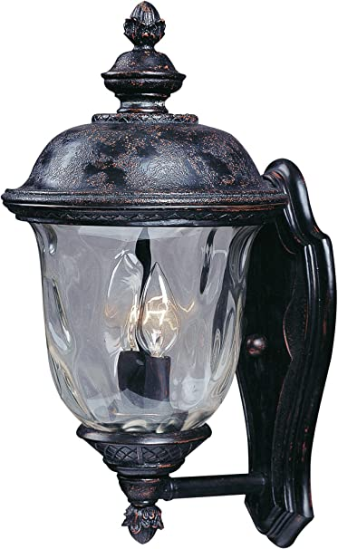 Maxim Carriage House DC 2-Light Outdoor Wall Lantern Bronze 3496WGOB