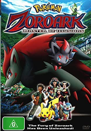 Amazon Com Pokemon Movie 13 Zoroark And The Master Illusion