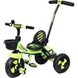 Luusa RX-500 Tricycle with Push Bar (Green)