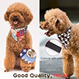 Pawaboo Dog Cat Scarf Collar, [2PACK] Cute
