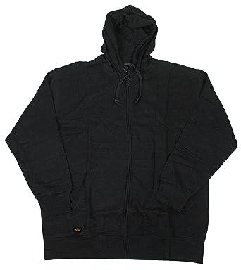 5e1639f803eab7 Dickies Men's Big Cross Dye Fleece Hooded Sweatshirt, Black XX-Large