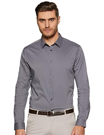 Slim Business Fit Col N0wox8pnk Classique Coupe Chemise Manches Celio IfgyYb7vm6