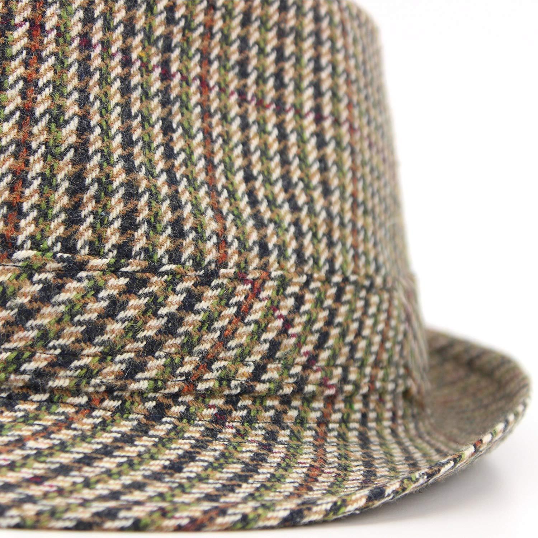 Hawkins Classic Tweed Trilby Hat
