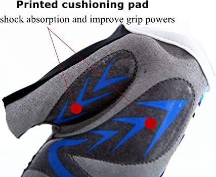 Gel Padding Bicycle Half Finger Pair Fit Boy Girl Youth Age 2-10 Kids Junior Cycling Gloves Outdoor Sport Road Mountain Bike Monkey Bars
