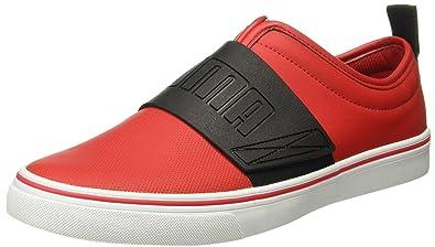 efe401ef308 Puma Men s El Rey Fun Idp Barbados Cherry and Black Sneakers - 10 UK India