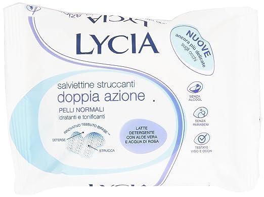 6 opinioni per Lycia- Salviettine Struccanti, Idratanti e Tonificanti- 20 pezzi