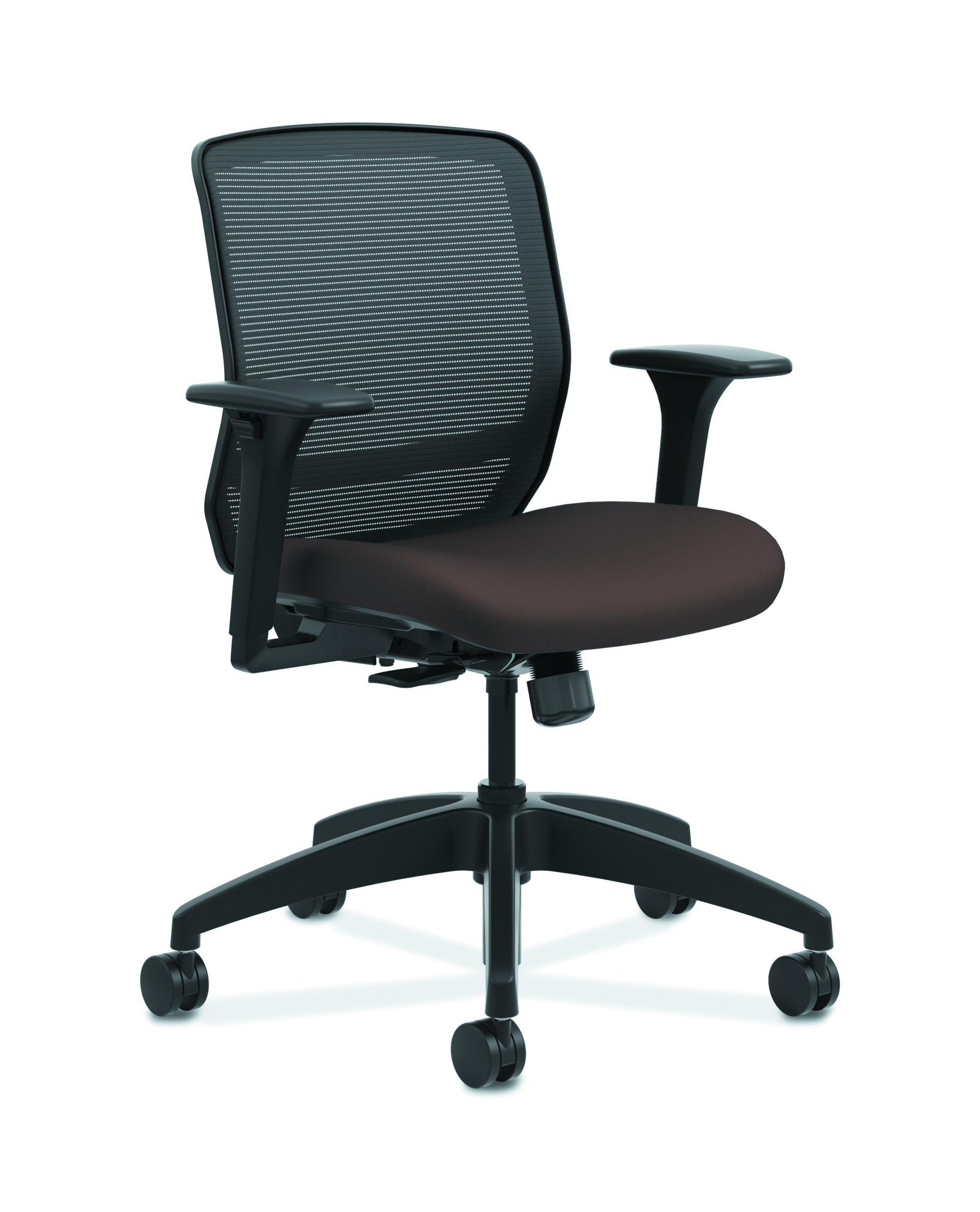 HON Quotient Mid Task Chair, Espresso CU49