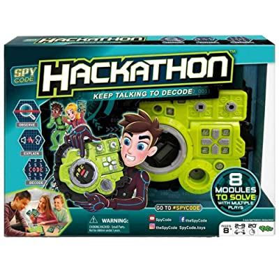 Spy Code Hackathon Electronic Game: Toys & Games