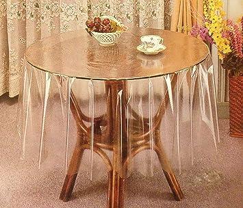 Superior Transparent Table Cloth Protector (70u0026quot; ...