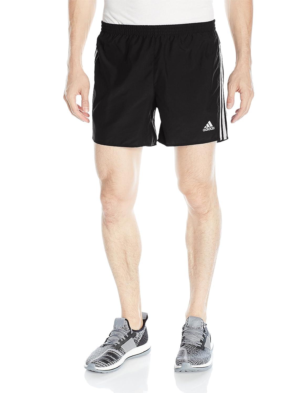 adidas Men's Response 5' Running Shorts, Black/White, Large adidas Inline Apparel Child Code (Sports Apparel F16080605