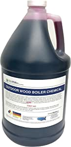 Boiler Rust Inhibitor - Wood Boiler Chemical - Boiler Chemical - 1 Gallon - Treats 250 to 500 gallons of Fresh Water