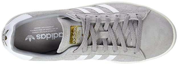 Amazon.com | adidas Originals Campus Shoes 5.5 B(M) US Women / 4.5 D(M) US Solid Grey White | Fashion Sneakers