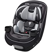 Safety 1st Grow and Go 3-in-1 Convertible Car Seat, Carbon Ink