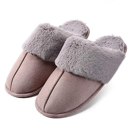 Artyton Zapatillas de Estar por casa para Mujer, Interior Casa Caliente y Slippers para Invierno